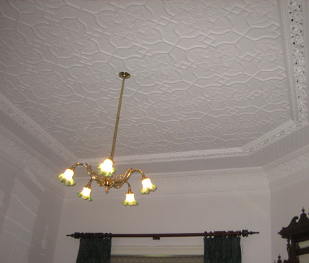 ceiling pressed metal